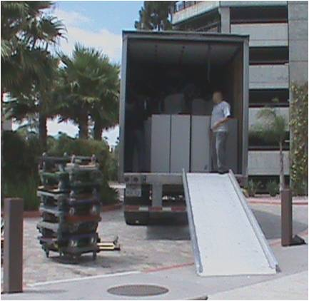 San Diego. Four trailer loads were provided to the Neighborhood Outreach Council in Compton CA.