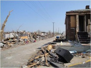 Stacey Clark took this photo of Joplin tornado damage on June 6, 2011, two weeks after the tornado.